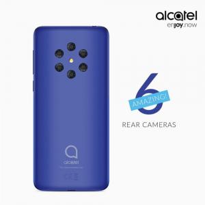 alcatel 6 camera's