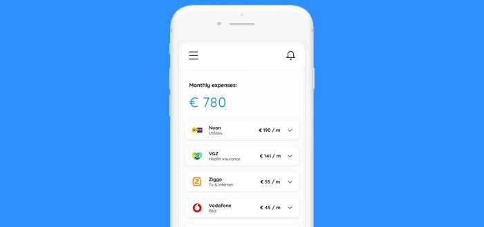 Dyme app: deze applicatie geeft inzicht in je vaste lasten