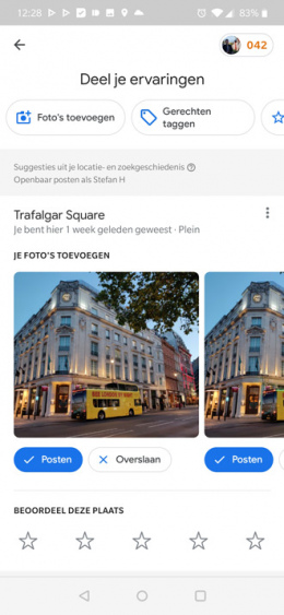 Google Maps bijdragen