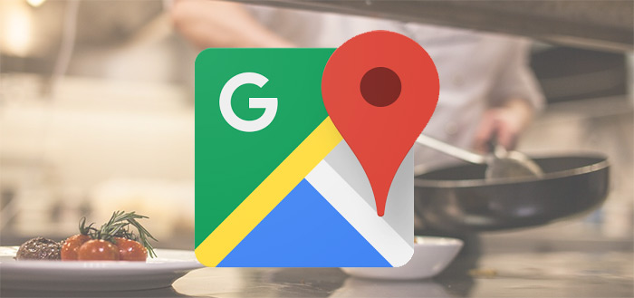 Google Maps test menukaarten in app: samen met reviews en foto's