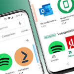 Google rolt opnieuw nieuw design uit voor Play Store-app
