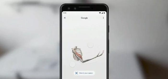 Google Zoeken krijgt AR-integratie: 3D-modellen in je eigen omgeving