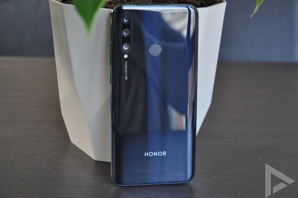 Honor 20 Lite achterkant