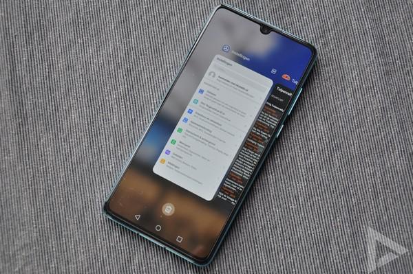 Huawei P30 multitasking
