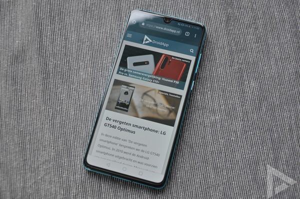 Huawei P30 internet