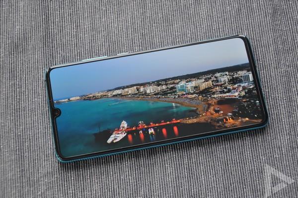 Huawei P30 beeldscherm