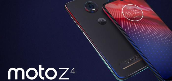 Moto Z4 officieel aangekondigd: in-display vingerafdrukscanner en meer