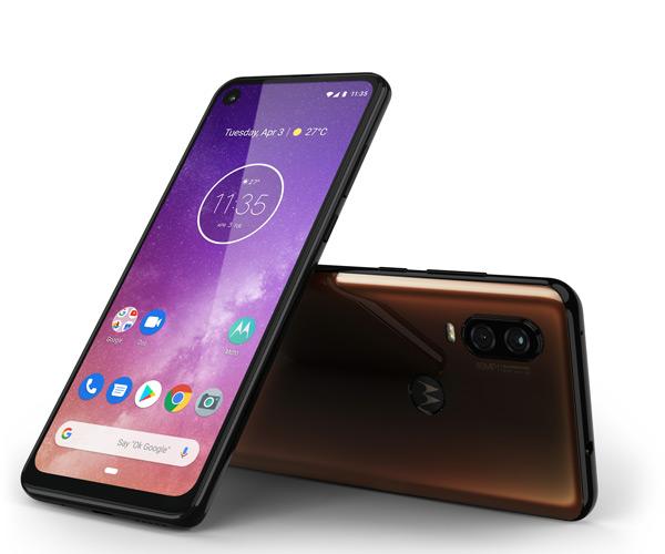 Motorola One Vision bruin