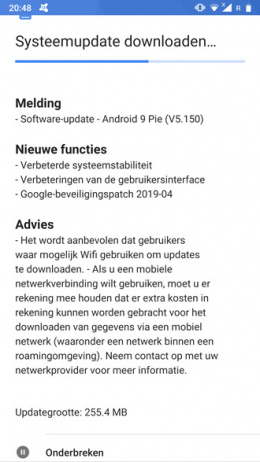 Nokia 8 April patch