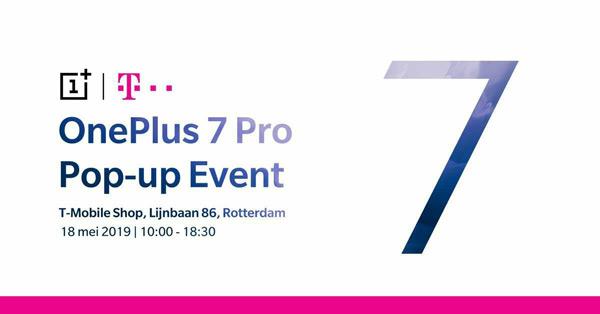 OnePlus 7 Pop-up event Nederland