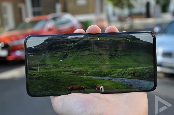 OnePlus 7 Pro beeldscherm