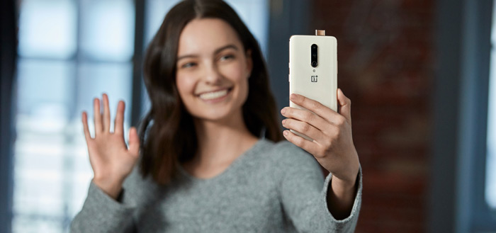 Schitterende OnePlus 7 Pro te bestellen in kleur 'Almond'
