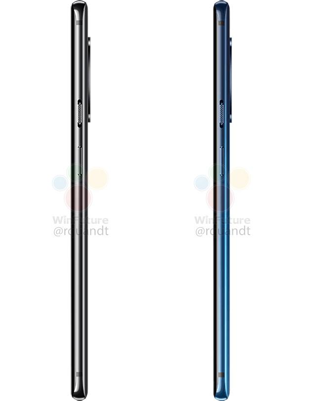 OnePlus 7 Pro zijkant