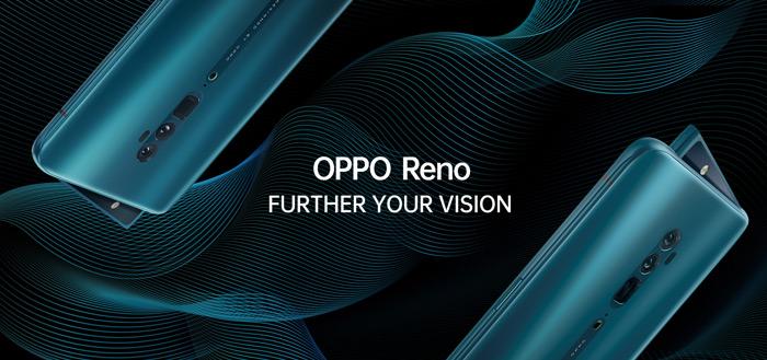 Oppo Reno met mechanisch uitschuifbare camera nu te koop voor €499