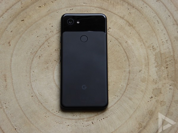 Pixel 3a achterkant