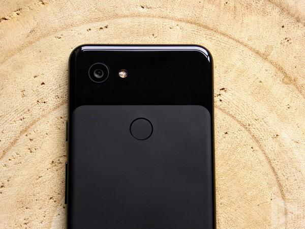 Pixel 3a vingerafdrukscanner