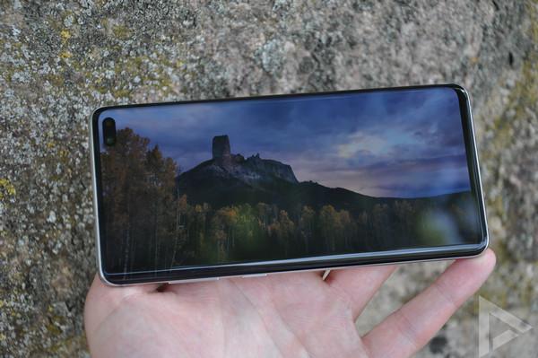 Samsung Galaxy S10+ beeldscherm