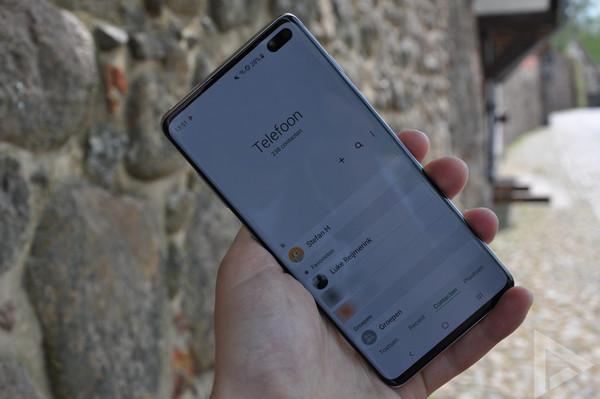 Samsung Galaxy S10+ telefoon