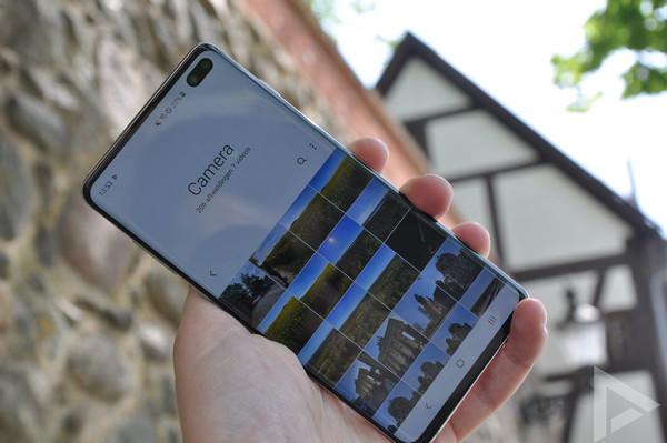 Samsung Galaxy S10+ galerij