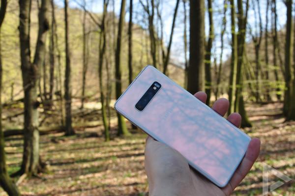 Samsung Galaxy S10+ achterkant