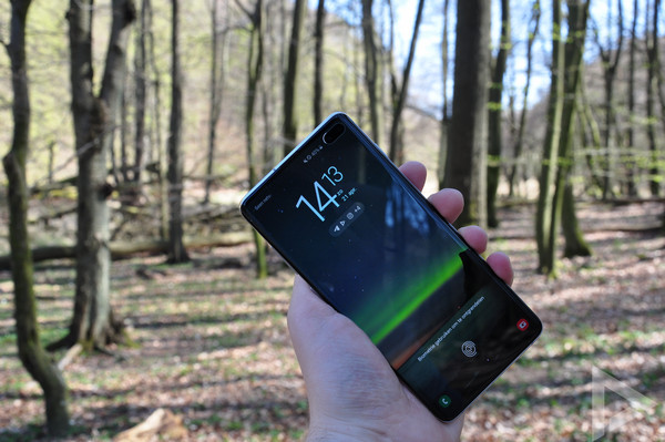 Samsung Galaxy S10+ beeld