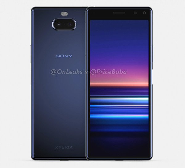 Sony Xperia 20 render