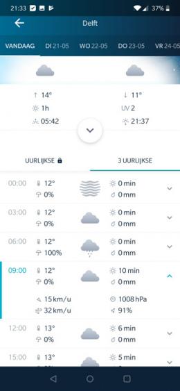 WeatherPro 5.0 app