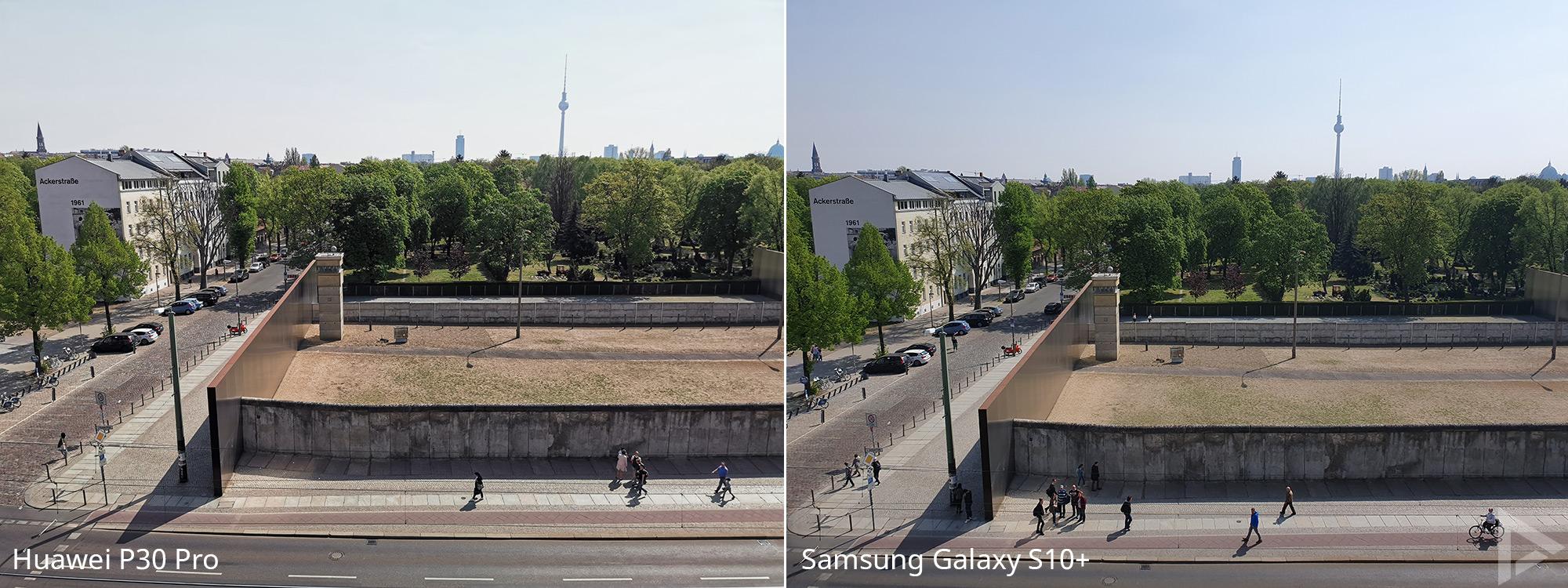 Fotovergelijking Huawei P30 Pro - Samsung Galaxy S10 1