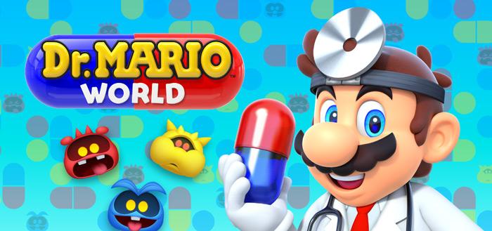 Nintendo brengt Dr. Mario World uit: mix tussen Tetris en Candy Crush