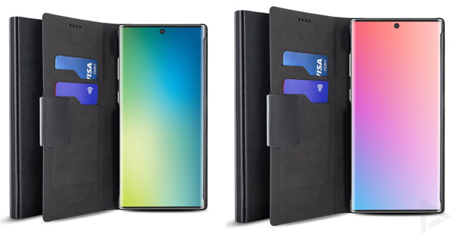 Samsung Galaxy Note 10 - Note 10 Pro case render