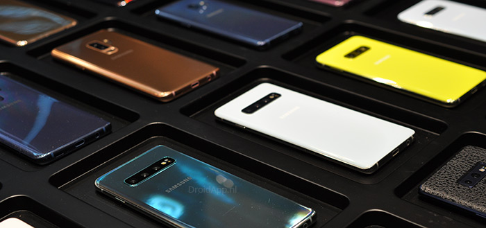 Samsung verkoopt 100.000 exemplaren van Galaxy S10; prijzen dalen hard