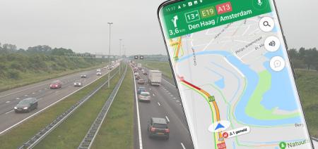Google Maps rolt melden radarcontroles, files en ongeval breed uit in Nederland