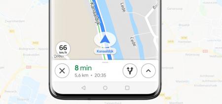 Google Maps: snelheidsmeter nu voor iedereen beschikbaar in Nederland