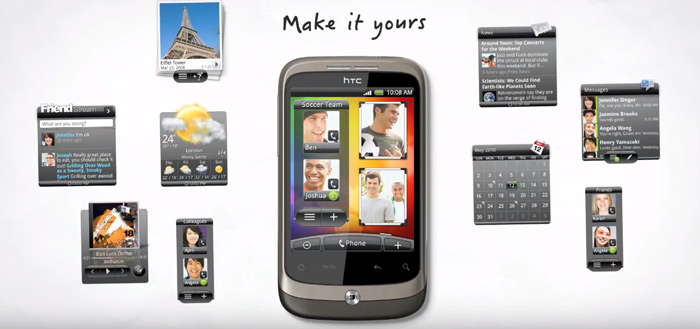 HTC Wildfire, Wildfire E, E Plus en E1 duiken op: foto's en specificaties
