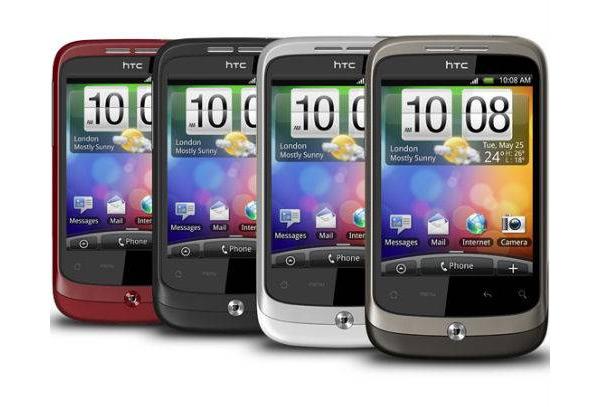HTC Wildfire kleuren