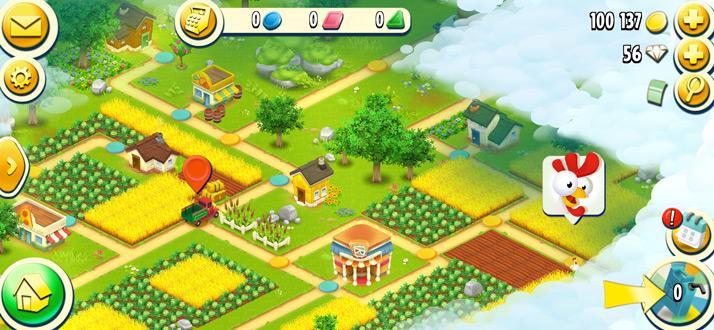 Hay Day dorp