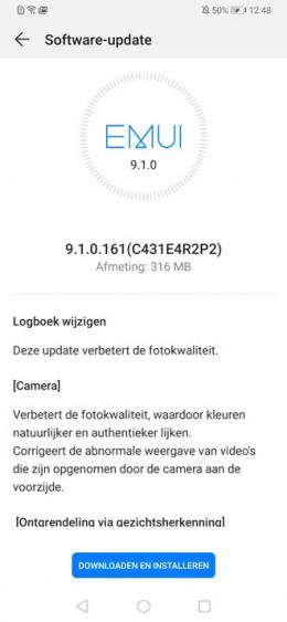 Huawei P30 Pro .161 update