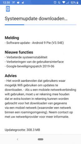 Nokia 6.1 beveiligingsupdate juni 2019