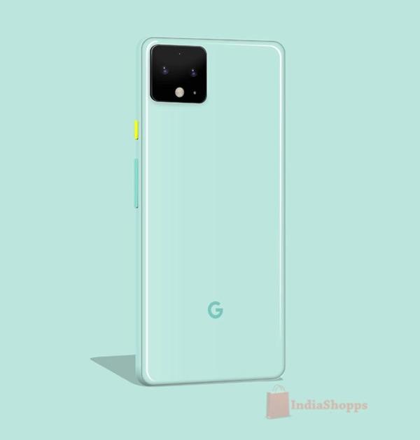 Pixel 4 Aqua mintgroen