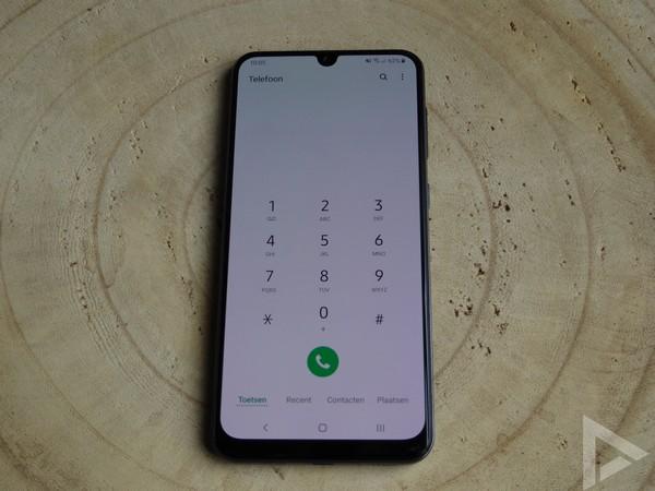 Samsung Galaxy A50 dialer