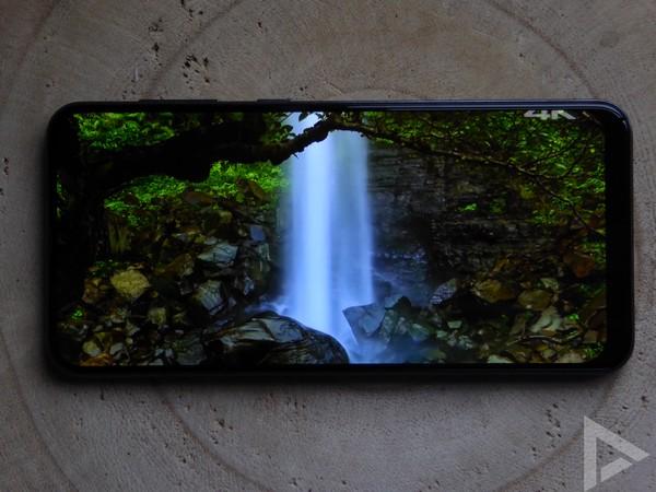 Samsung Galaxy A50 beeldscherm