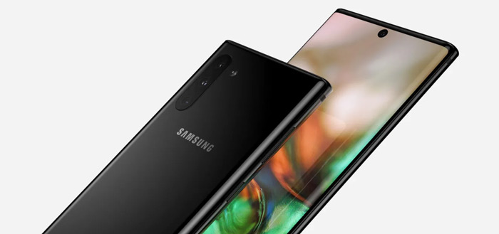 Galaxy Note 10 Pro wordt Galaxy Note 10+; live foto's opgedoken