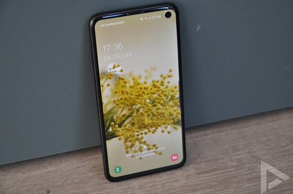 Samsung Galaxy S10e vergrendelscherm