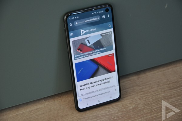 Samsung Galaxy S10e internet