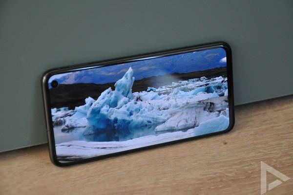 Samsung Galaxy S10e beeldscherm