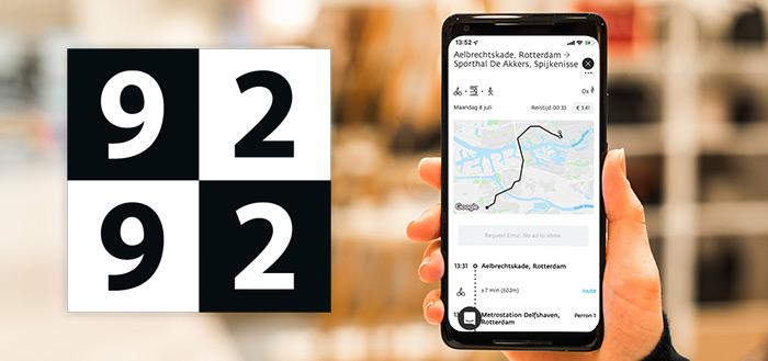 9292 app krijgt drukte-indicator en komt met e-tickets kopen