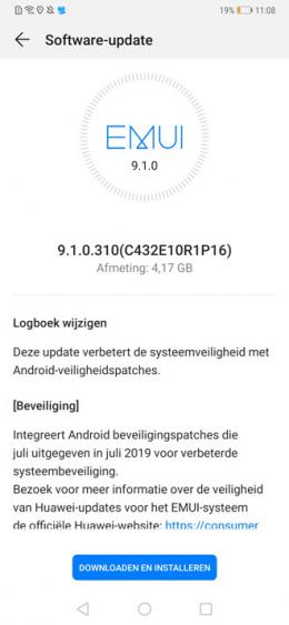 Huawei Mate 20 Pro - 9.1.0.310