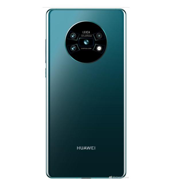 Huawei Mate 30 Pro render camera
