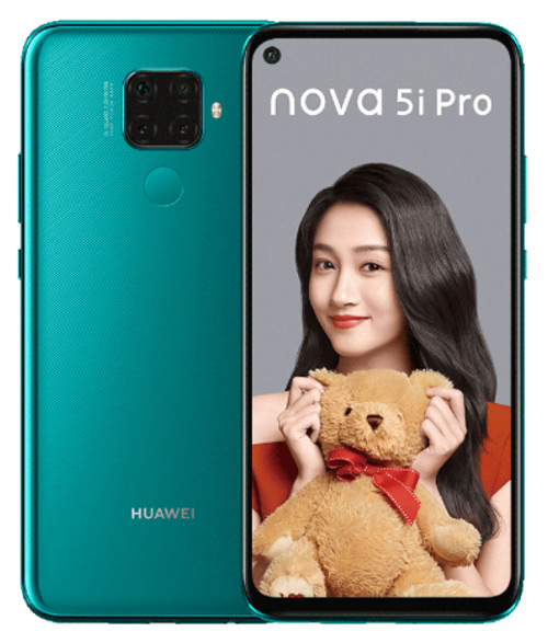 Huawei Nova 5i Pro groen