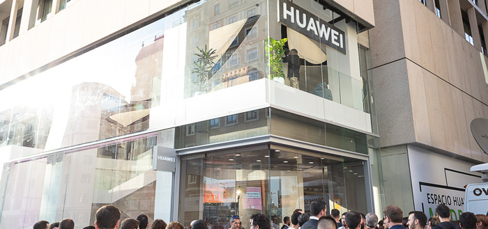 Huawei opent eerste Flagship-winkel, Huawei Space, in Europa